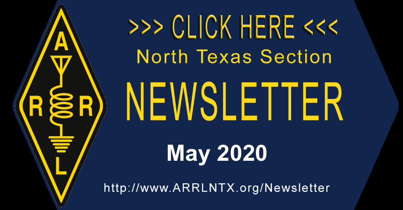 North Texas Section May 2020 Newsletter