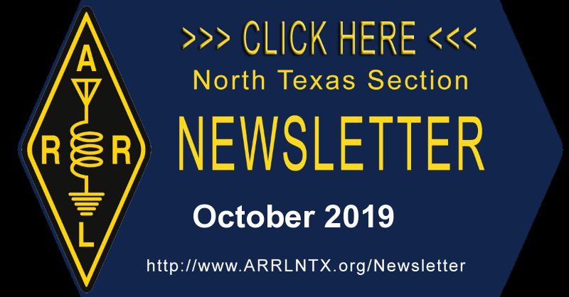 North Texas Section October 2019 Newsletter