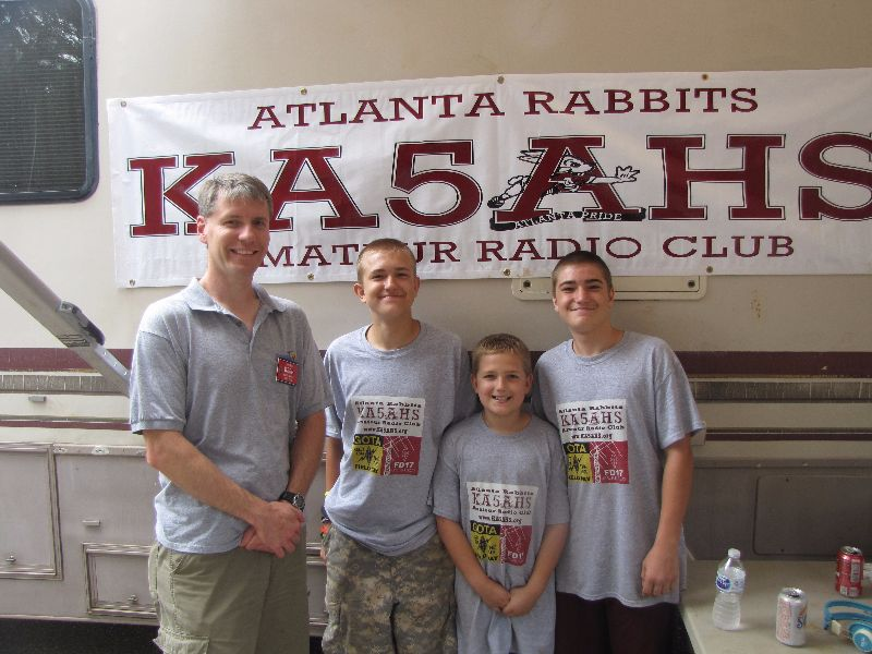 NTX SM Jay Urish W5GM visits the Atlanta Rabbits Amateur Radio Club - KA5AHS
