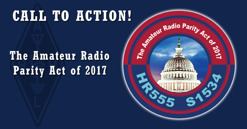 Support the Ham Radio Parity Act of 2017