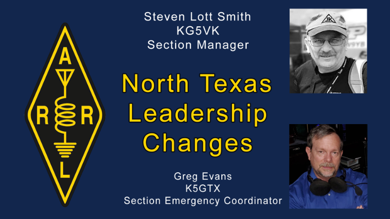 Section Leadership Changes in North Texas